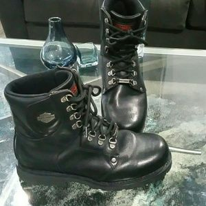 Harley Davidson Lace up Boots sz 8.5
